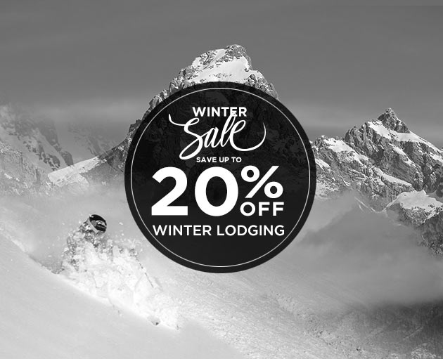 Save up to 20% Off Winter Lodging